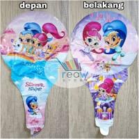 Balon Foil Pentungan / Tongkat Shimmer dan Shine