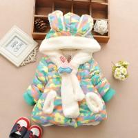 Baju Salju Anak Perempuan Impor Lucu Kelinci Bayi Jaket Musim Dingin T