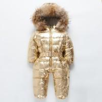 Baju Salju Anak Perempuan Impor Musim Dingin Bayi Baju Monyet Onesie