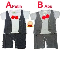 Baju Bayi Laki Laki Baru Lahir Romper Jumper Tuxedo Bayi Newborn Geral