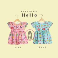 Baby Dress Baju Bayi Anak Pesta Hello