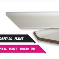 Hospital Plint Keramik Putih 8x30 cm Kw 2
