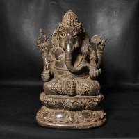 Patung Arca Perunggu Ganesha Antik Unik