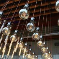 Lampu Led Filament 4 W/4W/4 Watt Cafe Taman outdoor/indoor G95/G 95