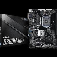 ASRock B360M-HDV - LGA1151 - B360 - DDR4 - USB3.1 - SATA3 Berkualitas