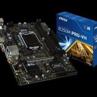 STOK TERBARU MSI B250M Pro VH LGA1151 B250 DDR4 By WPG Berkualitas
