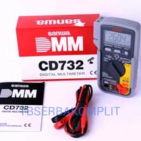 Sanwa CD732 digital Multi meter tester meters Avo CD 732 asli ori