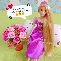Baju Barbie Princess Rapunzel - Barbie Dress Original Mattel