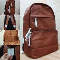 tas Fossil Walton Backpack Brown Leather original