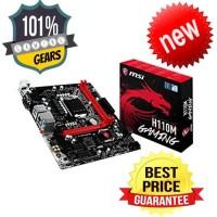 MSI H110M Gaming LGA 1151 Intel - H110M-Gaming Motherboard Berkualitas