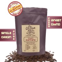 Kopi Arabika Puntang 500 Gr Single Origin Bean/Biji & Ground/Bubuk