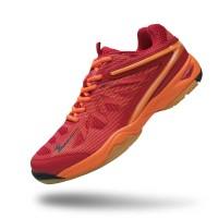Sepatu Eagle Commando – Sepatu Badminton - Red Orange, 38