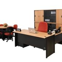 meja kantor L UNO 180cm