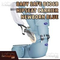 Baby Safe BC06 Blue Baby Hip Seat Gendongan Bayi Multifungsi Biru