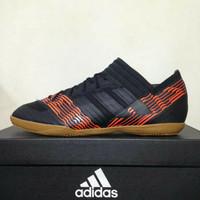 sepatu futsal adidas nemeziz tango 17.3 hitam merah ic original