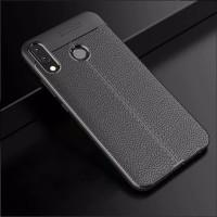 Asus Zenfone Max Pro M1 - Auto Focus Leather Case Kulit Jeruk