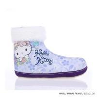Sepatu boot bot anak musim dingin winter salju hello kitty 21 - 26