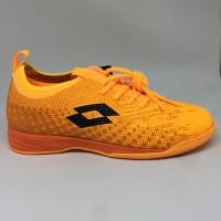 Sepatu futsal / putsal / footsal Lotto Original Spark In orange new 20