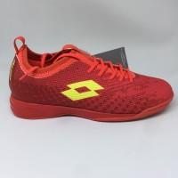 Sepatu futsal / putsal / footsal Lotto Original Spark In Solar red /st