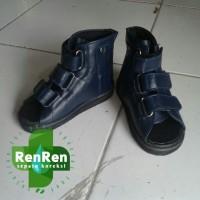 sepatu ortopedi kesehatan koreksi kaki datar flat foot