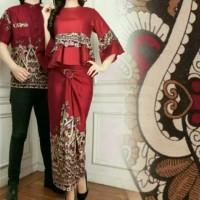 TitaniaFashion Baju batik couple pasangan wanita pesta kondangan keba
