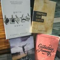 Paket 4 Buku Novel Fiersa Besari Arah Langkah Garis Waktu Catatan Juan