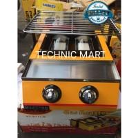 MAESTRO Panggangan Gas Roaster BBQ/ Kompor 2 Tungku KT K111 B