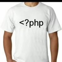 baju kaos pria PHP bigsize t shirt tshirt kaos diatro kaos keren
