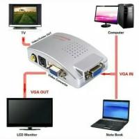 CONVERTER VGA TO RCA/CONV VGA TO AV VIDEO RCA