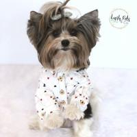 Apple Jack Collared Shirt | Baju Anjing Kucing Dog Cat Pet Clothing