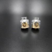 Druga RDA 24mm GLASS ULTEM Premium Quality Clone Vape Vaporizer Vaping