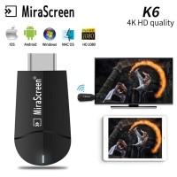 Mirascreen K6 wifi display usb dongle dual band 2.4ghz 4K HD