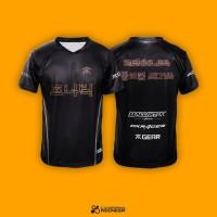 Jersey Fnatic Korean Edition Black - Baju Jersey Gaming DOTA 2
