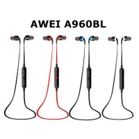 Original AWEI A960BL Sports Smart Bluetooth 4.0 In-Ear Earphone