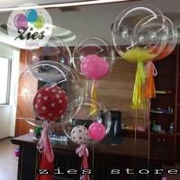 balon PVC transparant / PCV balloon 18inch high Quality