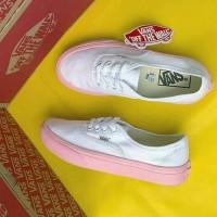 Sepatu Vans Authentic Putih Sol Pink Grade Ori Murah