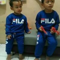 baju setelan trening olahraga anak FILA