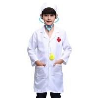 Jual Beli Baju Seragam Profesi Dokter Anak / Baju dokter Putih PI02