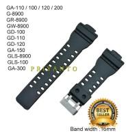 STRAP TALI JAM TANGAN CASIO G-SHOCK GDF-100 GDF-100BB GA-110 HITAM