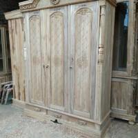 lemari baju minimalis Raja Pintu 3 Mentah J462