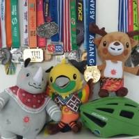 Asian Games 2018 Boneka Maskot Original Bhin Bhin Atung Kaka