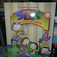 Seni Budaya dan Keterampilan SBK 3 SD Kelas III KTS Buku Pendidikan