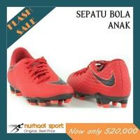 Sepatu Bola Anak Original JR Nike Hypervenom Phelon III FG Red