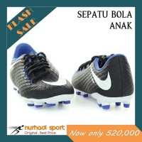 Sepatu Bola Anak Original JR Nike Hypervenom Phelon III FG Black