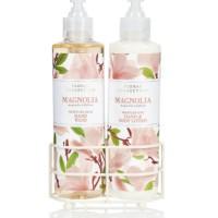 MARKS & SPENCER Twin Rack Set Hand Body Lotion + Hand Wash - Magnolia