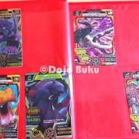 Best Seller Buku Album Kartu Animal Kaiser 96 Kartu Ukuran Sedang 15 X