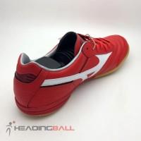 Sepatu Futsal Mizuno Original Morelia IN High Risk Red BNIB4