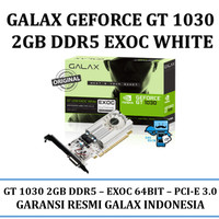 VGA GALAX nVidia Geforce GT 1030 EXOC (EXTREME OVERCLOCK) 2GB DDR5