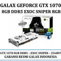 VGA GALAX nVidia Geforce GTX 1070 EXOC SNIPER VERSION 8GB DDR5 RGB LED
