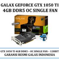 VGA GALAX nVidia Geforce GTX 1050 Ti OC 4GB DDR5 Single Fan